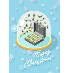 marry christmas Wealth vector image