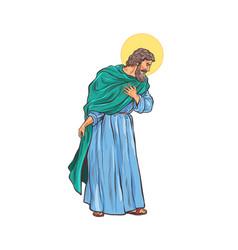 saint joseph father jesus vector image