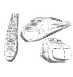 Shinkansen vector