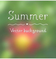 Summer background design vector