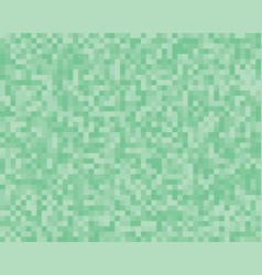 the light green square mosaic tiles background vector image