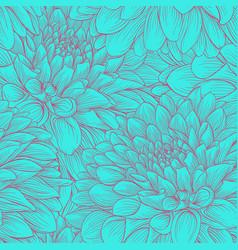 beautiful monochrome vintage colors seamless vector image