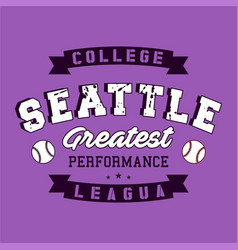 College seattle vector