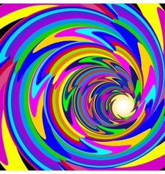Cosmic background with bright spiral vector