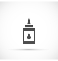 Doodle glue icon vector image