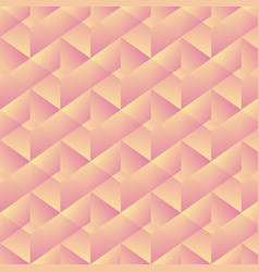 Geometric pattern with pink rectangles vector