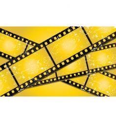 grunge filmstrips vector image