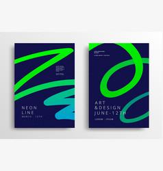 Modern art graphics vector