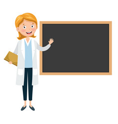 of teacher vector image