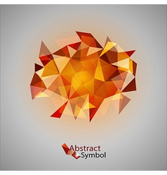 Red Triangles vector