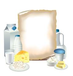 Paper milky vector