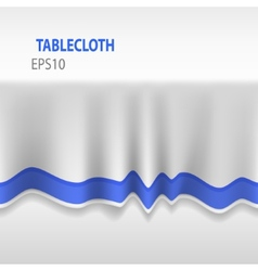 3d Seamless Tablecloth vector