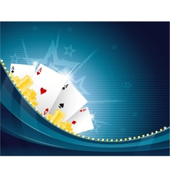 Casino background vector