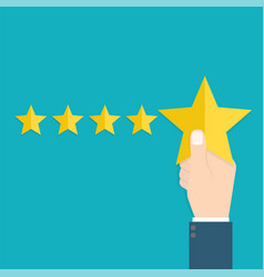 customer review concept usability evaluation vector image