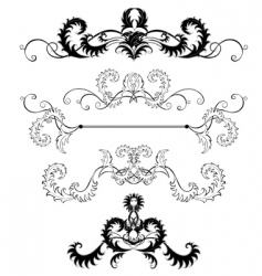 decoration pages vector image