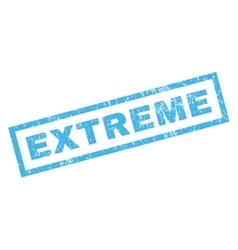Extreme rubber stamp vector