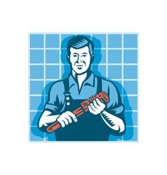 Plumber Worker vector image vector image