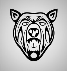 Tribal Bear vector