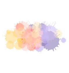 Watercolor astract background or aquarelle vector