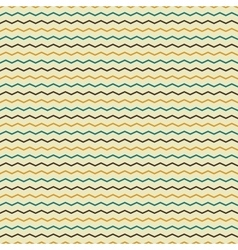 Zigzag retro seamless pattern vector