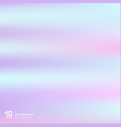 Abstract gradient pastel color holographic vector