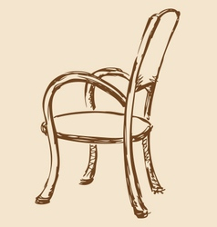 Chair vector image
