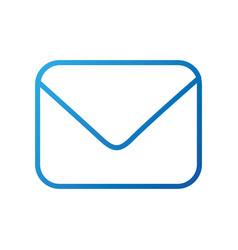 close envelope email message letter digital vector image