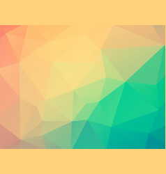colorful polygonal texture vector image