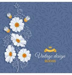 Daisy background vector