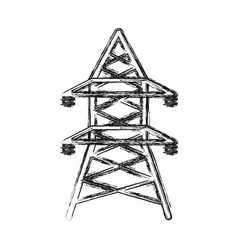 energy tower icon vector image