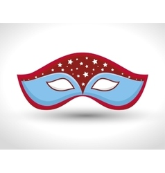 Gondolier mask isolated icon vector
