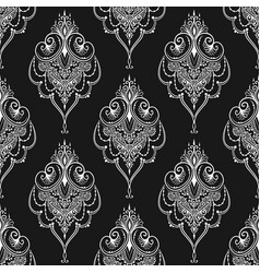 lace elegant vintage pattern vector image