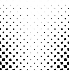 Monochrome square pattern background vector