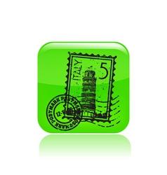 Pisa icon vector