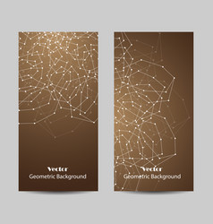 Set of vertical banners vector