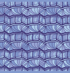 seamless pattern repeating geometric vector image vector image