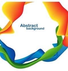 Abstract lines design vector image vector image