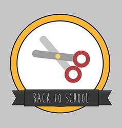 backto school design vector image
