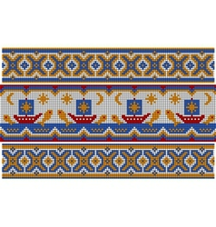 Old ethnic ornament vector image vector image