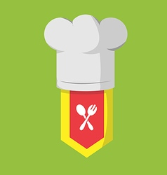 Restaurant Chef Cook Food Icon vector image vector image