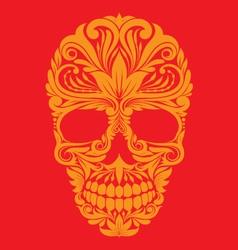 Skull Ornamental vector image