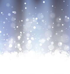 Sparkling Frosty Background vector image
