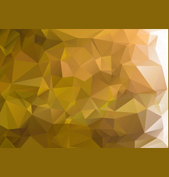 Abstract green background polygon vector