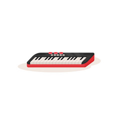 electric piano or synthesizer musical instrument vector image