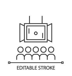 Esports linear icon vector