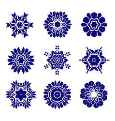mandala collection vector image