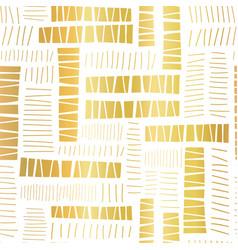 seamless pattern gold foil block stripes vector image
