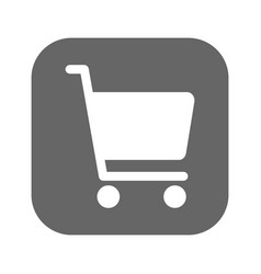 shopping chart icon best flat icon vector image