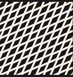 slanted rhombuses seamless geometric pattern vector image