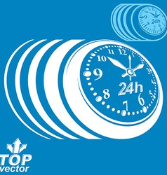 Twenty-four hours a day conceptual eps 8 highly vector